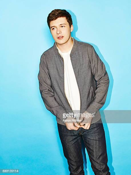 Actor Nick Robinson is photographed for The Hollywood Reporter on April 7 2015 in New York City