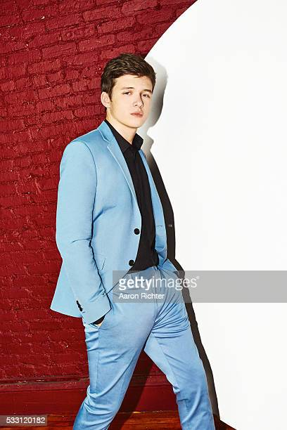 Actor Nick Robinson is photographed for The Hollywood Reporter on April 7 2015 in New York City PUBLISHED IMAGE