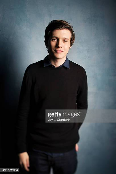 Actor Nick Robinson of Being Charlie is photographed for Los Angeles Times on September 25 2015 in Toronto Ontario PUBLISHED IMAGE CREDIT MUST READ...