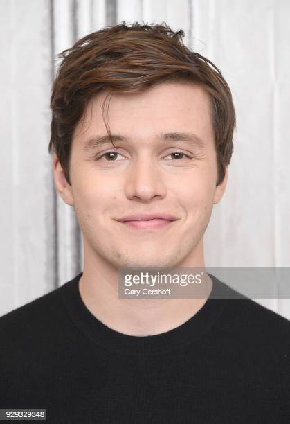 Actor Nick Robinsoni visits Build Series to discuss the film Love Simon at Build Studio on March 8 2018 in New York City