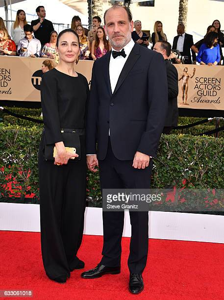 Actor Nick Sandow and Tamara MalkinStuart attend the 23rd Annual Screen Actors Guild Awards at The Shrine Expo Hall on January 29 2017 in Los Angeles...