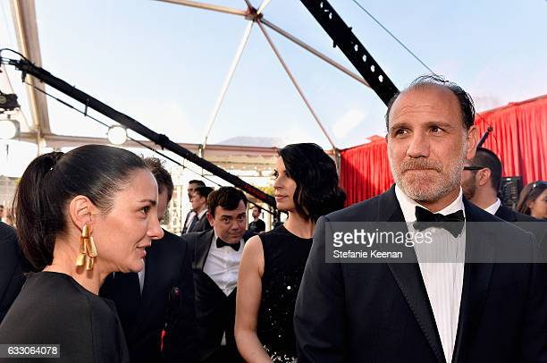 Actor Nick Sandow and Tamara MalkinStuart attend The 23rd Annual Screen Actors Guild Awards at The Shrine Auditorium on January 29 2017 in Los...