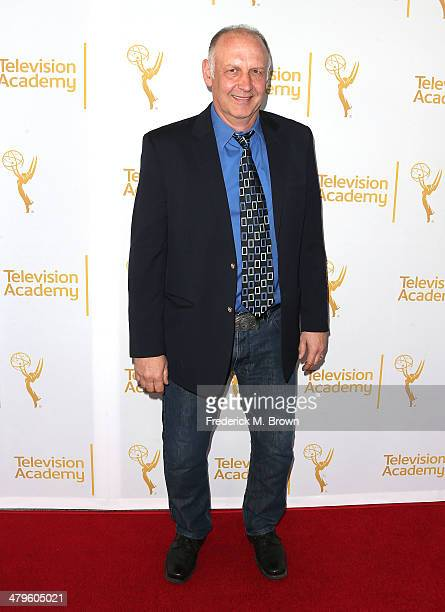 Actor Nick Searcy attends The Television Academy Presents an Evening with Justified at the Leonard H Goldenson Theatre on March 19 2014 in Hollywood...