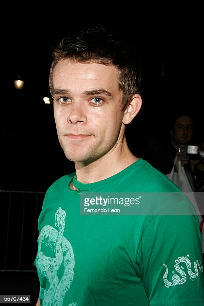 Actor Nick Stahl attends day 8 of Olympus Fashion Week Spring 2006 at Bryant Park September 16 2005 in New York City