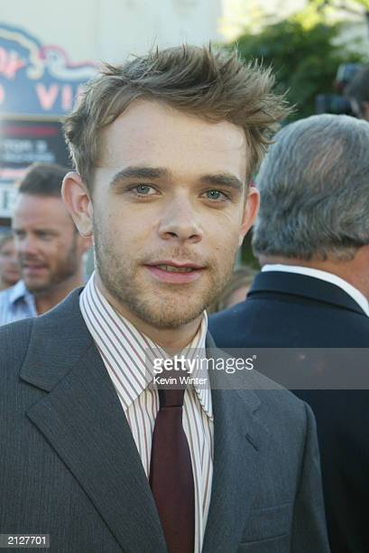 "Actor Nick Stahl attends the world premiere of ""Terminator 3: Rise of the Machines"" at the Mann VillageTheater June 30, 2003 in Westwood, California."