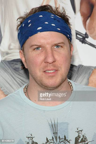 Actor Nick Swardson attends Columbia Pictures' screening of You Don't Mess With The Zohan on June 4 2008 at the Ziegfeld Theater in New York City