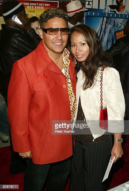 Actor Nick Turturro and wife Lissa Espinosa attend a special screening of The Longest Yard May 24 2005 in New York City