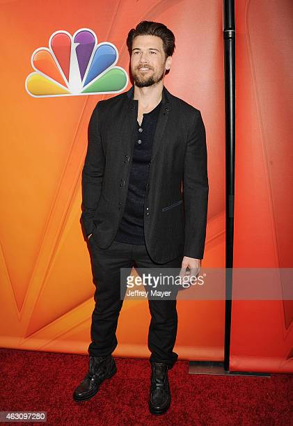 Actor Nick Zano attends the NBCUniversal 2015 Press Tour at the Langham Huntington Hotel on January 15 2015 in Pasadena California
