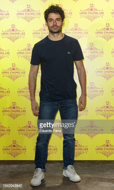 Actor Nico Romero attends the 'Unas Chung Lee' opening party at Unas Chung Lee bar on September 27 2018 in Madrid Spain