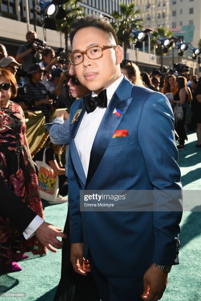 "Warner Bros. Pictures' ""Crazy Rich Asians"" Premiere - Red Carpet : News Photo"
