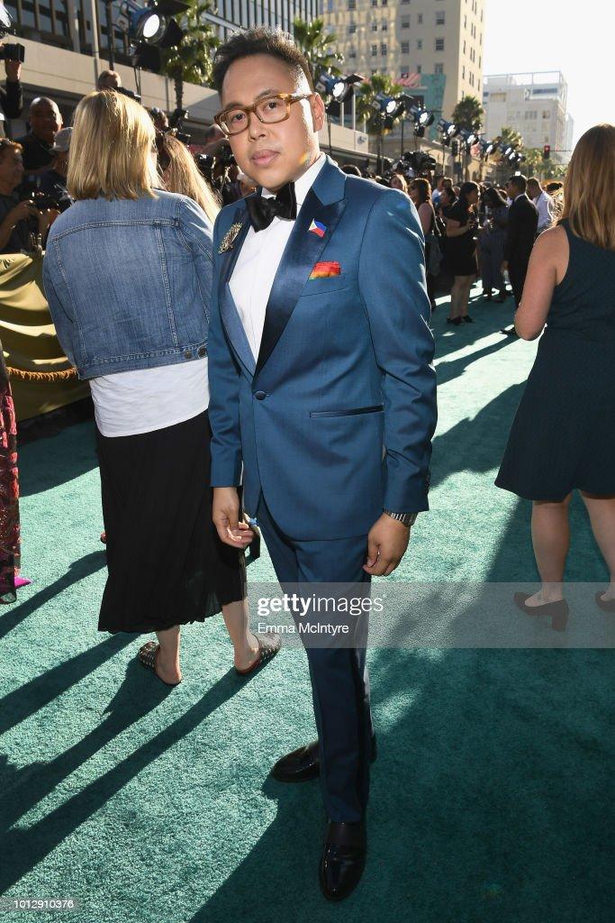 "Warner Bros. Pictures' ""Crazy Rich Asians"" Premiere - Red Carpet : News Photo"