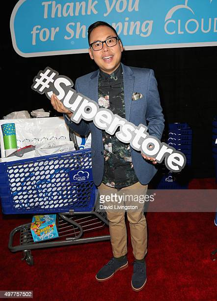 Actor Nico Santos attends the NBC Comedy Press Junket for Telenovela and Superstore at Universal Studios Hollywood on November 18 2015 in Universal...