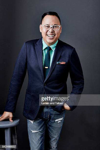 Actor Nico Santos is photographed for Entertainment Weekly Magazine at the ATX Television Fesitval on June 10 2016 in Austin Texas