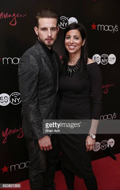 Actor Nico Tortorella and First Deputy Commissioner at Mayor's Office of Media Entertainment City of New York Kai Falkenberg attend as Macy's...