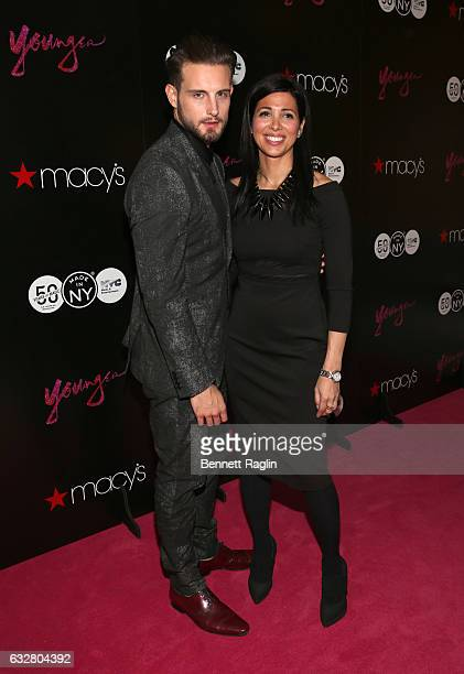 Actor Nico Tortorella and First Deputy Commissioner at Mayor's Office of Media Entertainment Kai Falkenberg attend the Macy's CelebratesThe 50th...