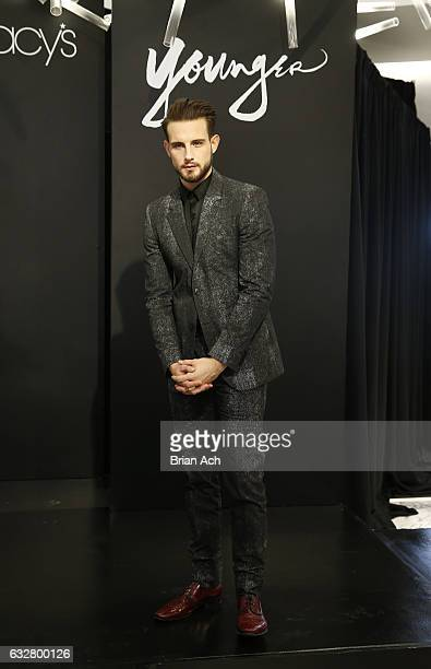 Actor Nico Tortorella attends as Macy's celebrates the 50th Anniversary of the Mayor's Office Of Media And Entertainment with fashion show curated by...