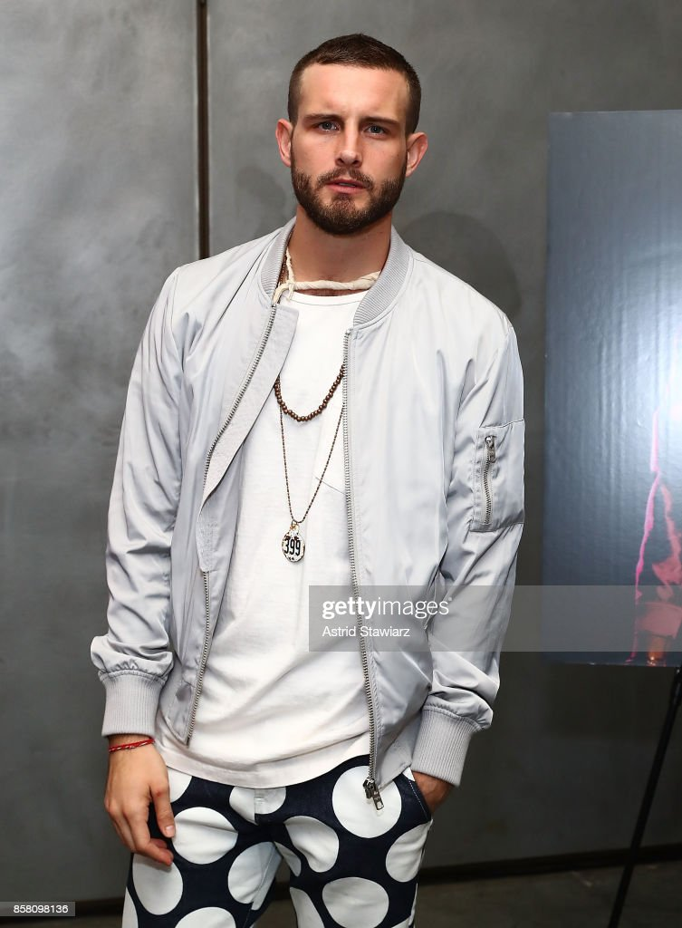Actor Nico Tortorella attends Brad Walsh 'Antiglot' performance and album release party at Pier 59 Studios on October 5, 2017 in New York City.