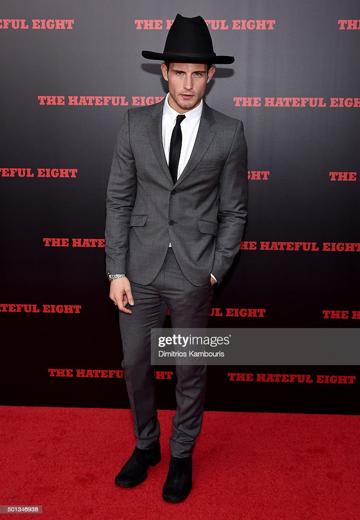 Actor Nico Tortorella attends the New York premiere of 'The Hateful Eight' on December 14, 2015 in New York City.