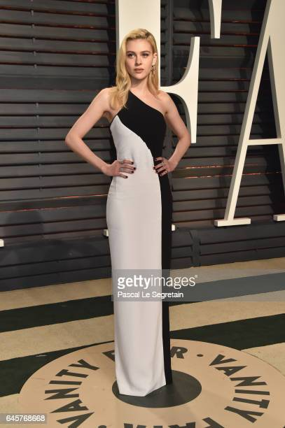 Actor Nicola Peltz attends the 2017 Vanity Fair Oscar Party hosted by Graydon Carter at Wallis Annenberg Center for the Performing Arts on February...