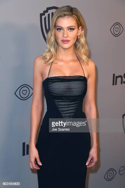 Actor Nicola Peltz attends the 2018 InStyle and Warner Bros 75th Annual Golden Globe Awards PostParty at The Beverly Hilton Hotel on January 7 2018...
