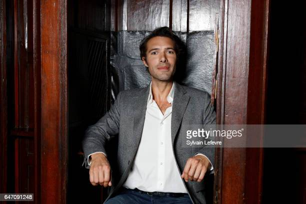 Actor Nicolas Bedos is photographed for Self Assignment on February 28 2017 in Lille France