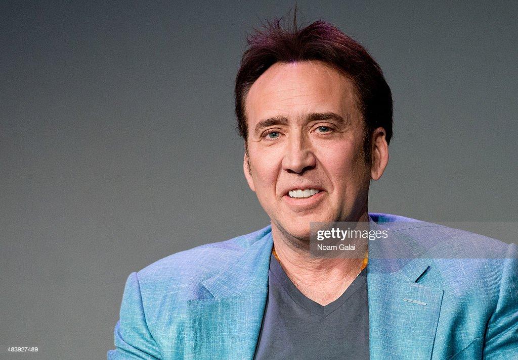"Apple Store Soho Presents: Meet The Filmmakers  David Gordon Green, Nicolas Cage, ""Joe"" : News Photo"