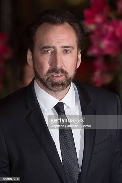 Actor Nicolas Cage attends 'The Croods' Premiere during the 63rd Berlinale International Film Festival at Berlinale Palast in Berlin