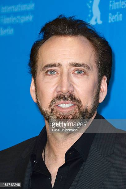 Actor Nicolas Cage attends the 'The Croods' Photocall during the 63rd Berlinale International Film Festival at Grand Hyatt Hotel on February 15 2013...