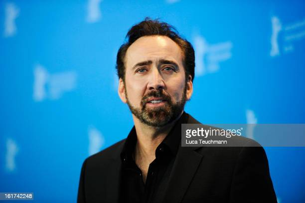 Actor Nicolas Cage attends the 'The Croods' Photocall during the 63rd Berlinale International Film Festival at Grand Hyatt Hotel on February 15, 2013...