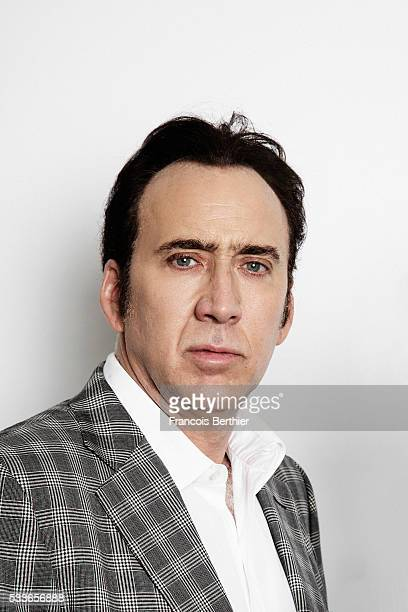 Actor Nicolas Cage is photographed for Self Assignment on May 21 2016 in Cannes France