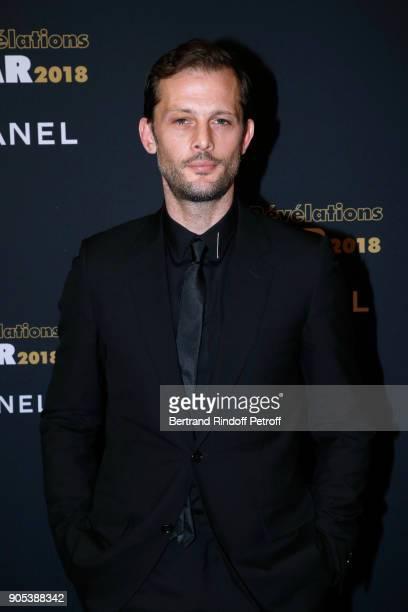 Actor Nicolas Duvauchelle attends the 'Cesar Revelations 2018' Party at Le Petit Palais on January 15 2018 in Paris France