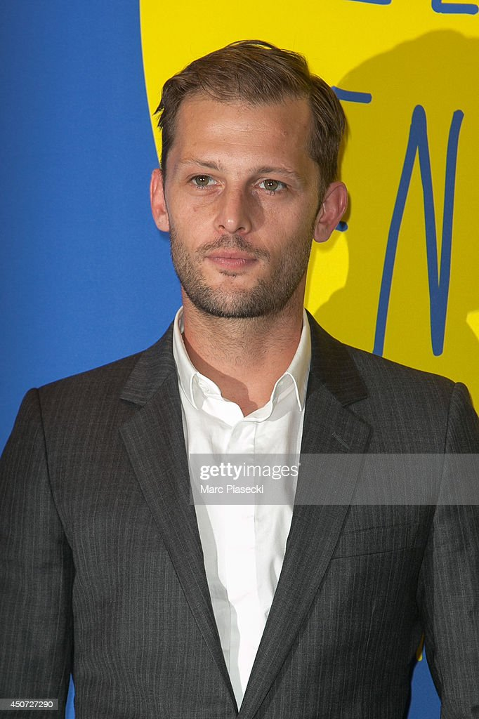 Actor Nicolas Duvauchelle attends the 'Panorama des Nuits en or' gala dinner UNESCO on June 16, 2014 in Paris, France.