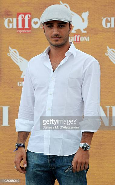 Actor Nicolas Vaporidis attends a photocall during the Giffoni Experience 2010 on July 26 2010 in Giffoni Valle Piana Italy