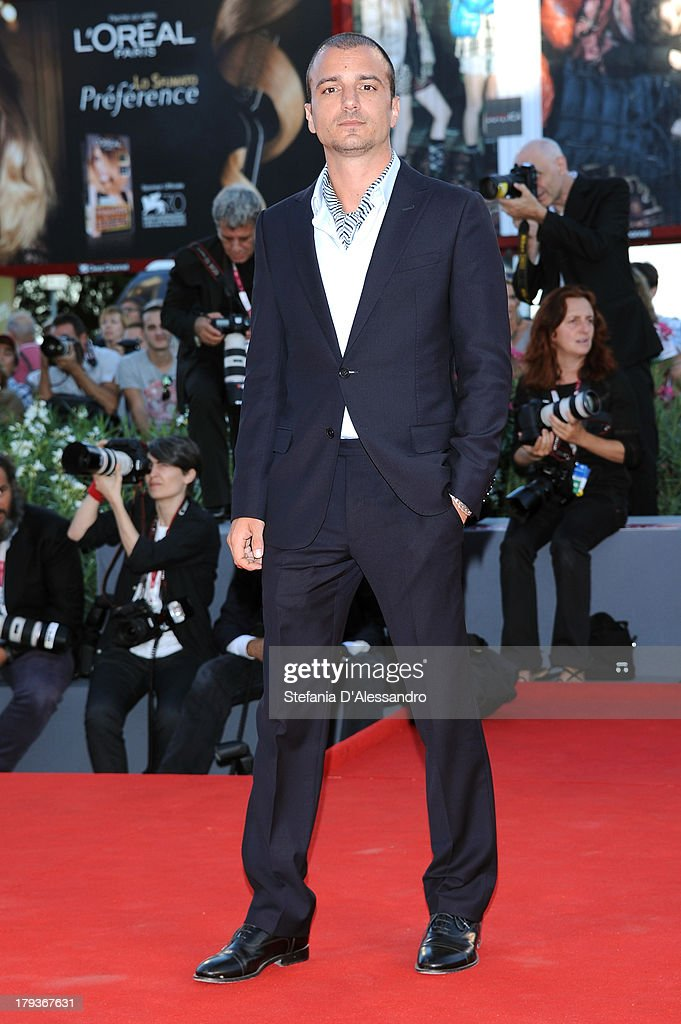 Actor Nicolas Vaporidis attends the 'The Zero Theorem' Premiere during the 70th Venice International Film Festival at Sala Grande on September 2, 2013 in Venice, Italy.