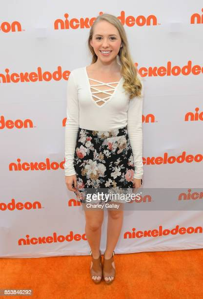 Actor Nicole Alyse Nelson at Nickelodeon's 'Escape From Mr Lemoncello's Library' premiere event at Paramount Studios on September 25 2017 in...