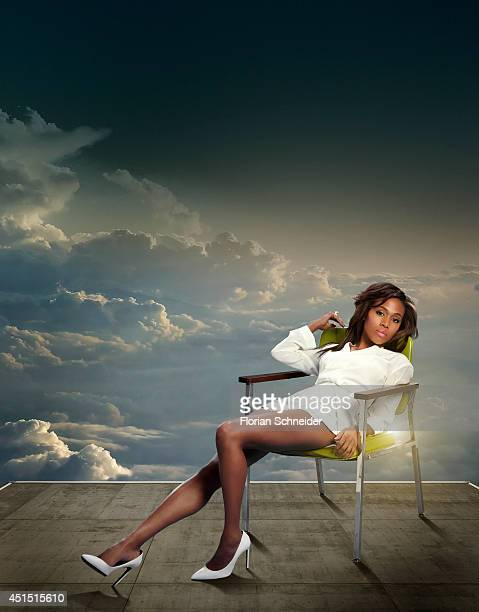Actor Nicole Beharie is photographed for Emmy Magazine on February 4 in Los Angeles California PUBLISHED IMAGE