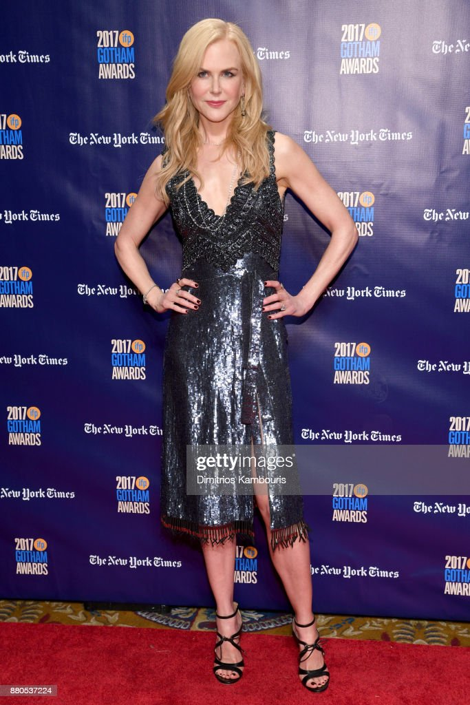 Actor Nicole Kidman attends IFP's 27th Annual Gotham Independent Film Awards on November 27, 2017 in New York City.
