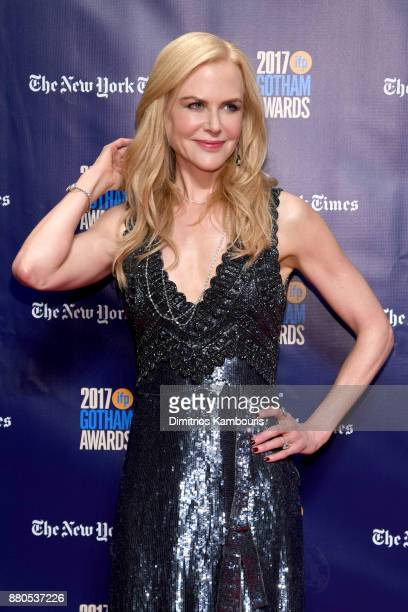 Actor Nicole Kidman attends IFP's 27th Annual Gotham Independent Film Awards on November 27 2017 in New York City