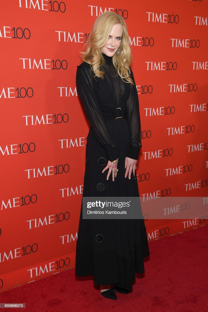 Actor Nicole Kidman attends the 2018 Time 100 Gala at Jazz at Lincoln Center on April 24, 2018 in New York City.