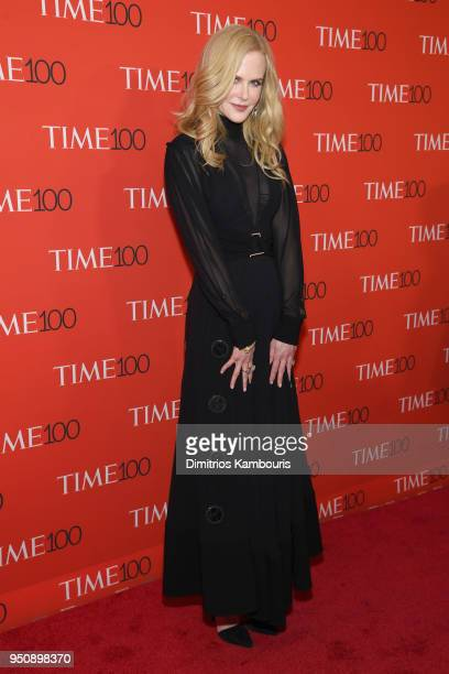 Actor Nicole Kidman attends the 2018 Time 100 Gala at Jazz at Lincoln Center on April 24 2018 in New York City
