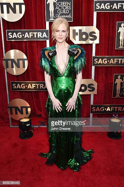 Actor Nicole Kidman attends The 23rd Annual Screen Actors Guild Awards at The Shrine Auditorium on January 29 2017 in Los Angeles California