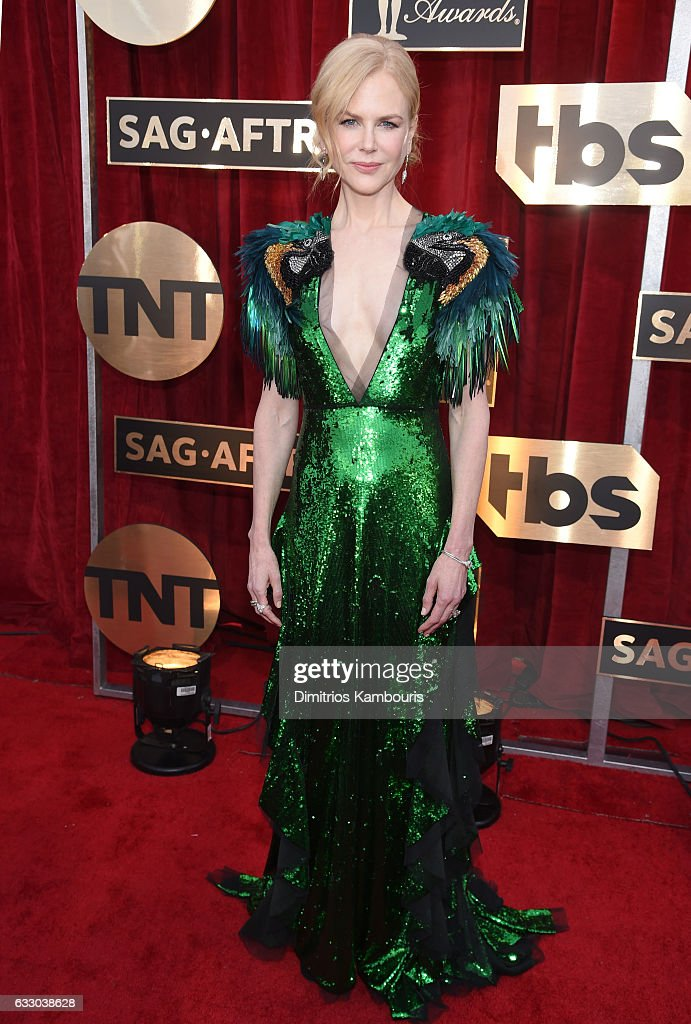 Actor Nicole Kidman attends The 23rd Annual Screen Actors Guild Awards at The Shrine Auditorium on January 29, 2017 in Los Angeles, California. 26592_009