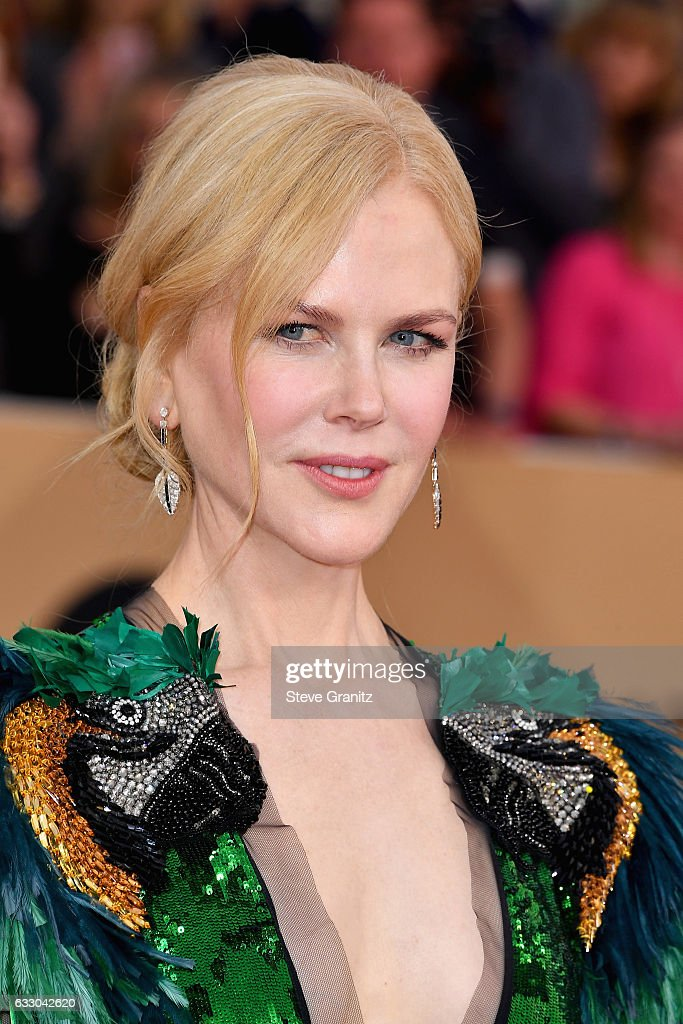 Actor Nicole Kidman attends the 23rd Annual Screen Actors Guild Awards at The Shrine Expo Hall on January 29, 2017 in Los Angeles, California.