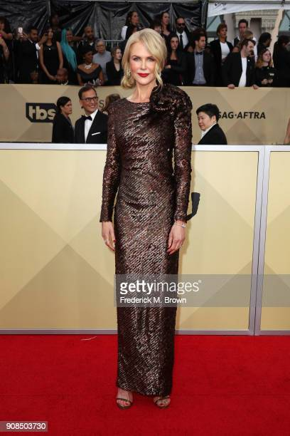 Actor Nicole Kidman attends the 24th Annual Screen Actors Guild Awards at The Shrine Auditorium on January 21 2018 in Los Angeles California 27522_017