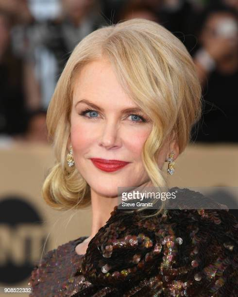 Actor Nicole Kidman attends the 24th Annual Screen Actors Guild Awards at The Shrine Auditorium on January 21 2018 in Los Angeles California