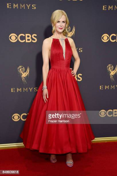 Actor Nicole Kidman attends the 69th Annual Primetime Emmy Awards at Microsoft Theater on September 17, 2017 in Los Angeles, California.