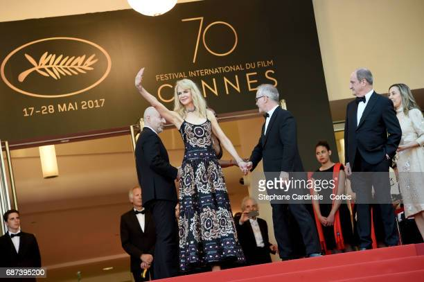 Actor Nicole Kidman attends the 70th Anniversary of the 70th annual Cannes Film Festival at Palais des Festivals on May 23 2017 in Cannes France
