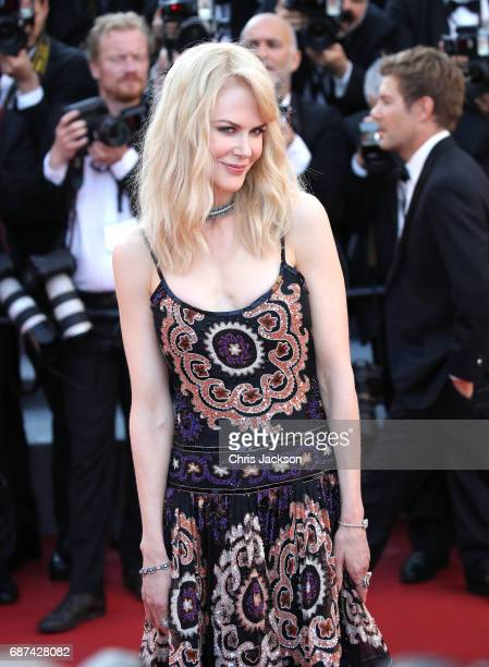 Actor Nicole Kidman attends the 70th Anniversary of the 70th annual Cannes Film Festival at Palais des Festivals on May 23, 2017 in Cannes, France.