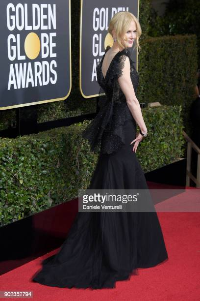 Actor Nicole Kidman attends The 75th Annual Golden Globe Awards at The Beverly Hilton Hotel on January 7 2018 in Beverly Hills California