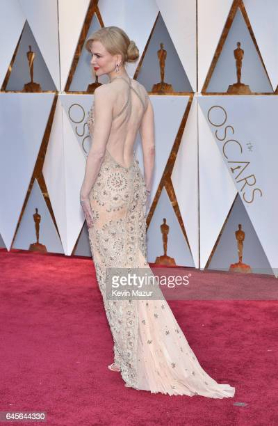 Actor Nicole Kidman attends the 89th Annual Academy Awards at Hollywood Highland Center on February 26 2017 in Hollywood California